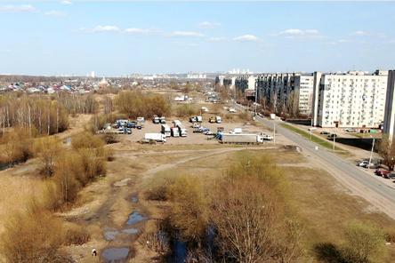Благоустройство трех территорий началось в Автозаводском районе