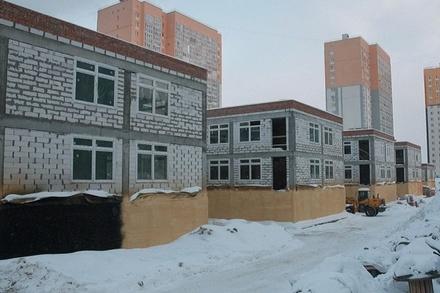 В микрорайоне «Бурнаковский» возобновилось строительство детского сада