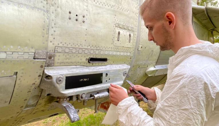 Студенты политеха возродили легендарный МиГ-17 - фото 4