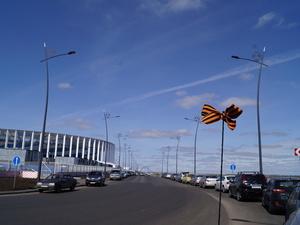 Можно ли ездить по дорогам вокруг стадиона «Нижний Новгород»?