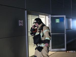 Вызванный взрывом пожар на стадионе «Нижний Новгород» учились обезвреживать сотрудники МЧС