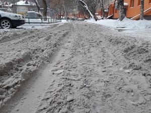За плохую уборку снега привлекли к ответственности шесть подрядчиков в Приокском районе