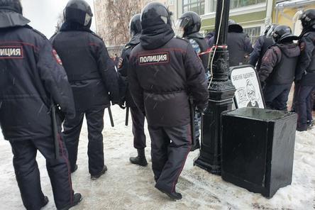 338 участников митинга в поддержку Навального задержали в Нижнем Новгороде