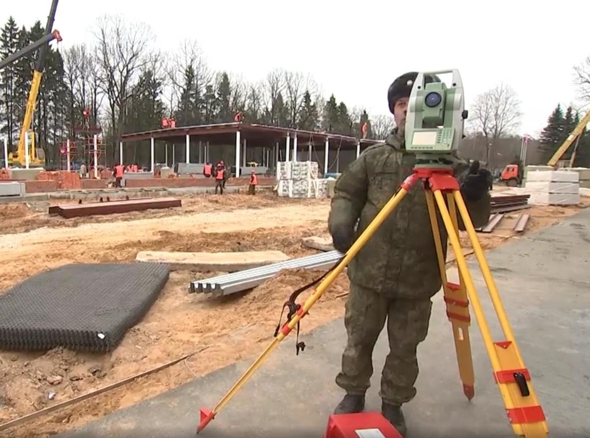 Новый военный госпиталь в Нижнем Новгороде достроят уже к 20 апреля - фото 1