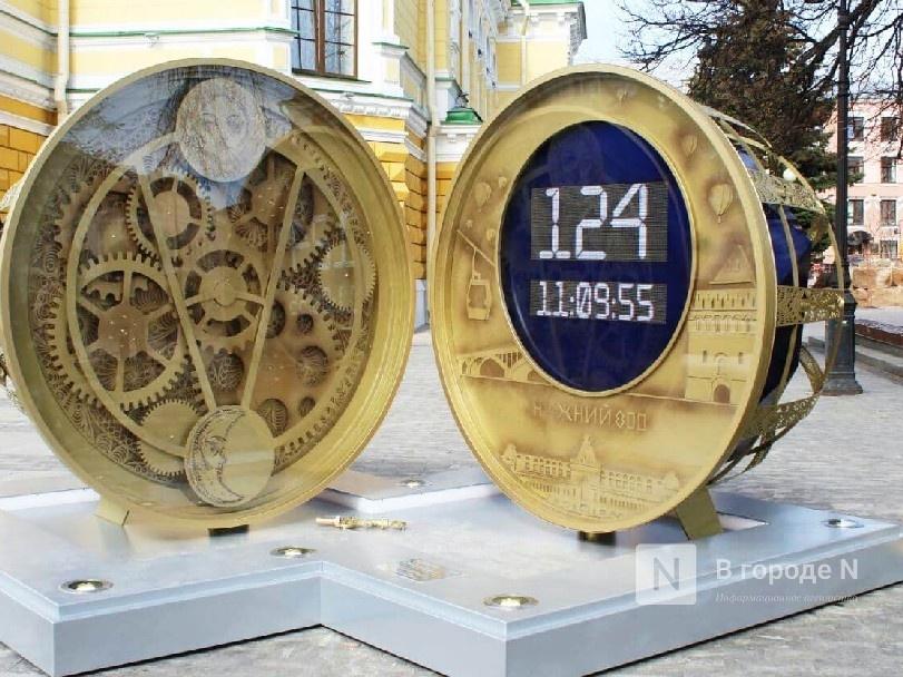 Часы обратного отсчета до 800-летия появились в Нижнем Новгороде - фото 1