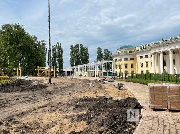 Еловый сквер благоустраивают в Нижегородском кремле - фото 5