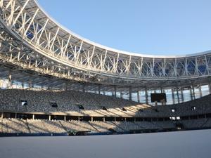 Работы на стадионе «Нижний Новгород» вышли на завершающую стадию