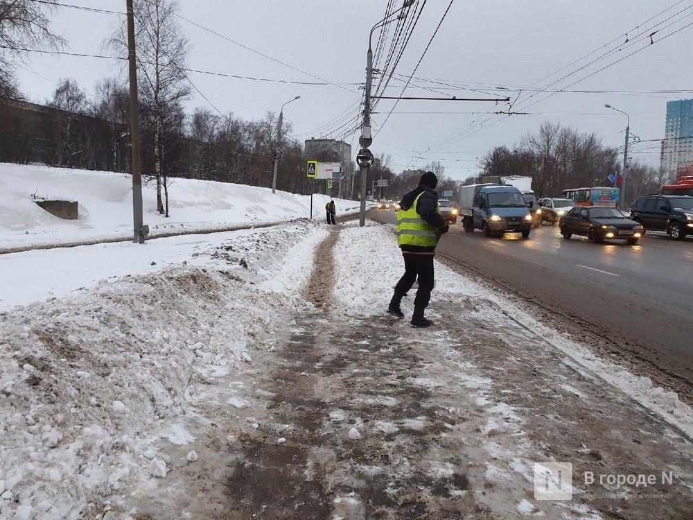Ночной снегопад сковал движение на улицах Нижнего Новгорода - фото 2