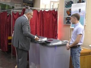 Глава думы Нижнего Новгорода проголосовал на выборах губернатора