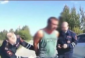 Богородские полицейские устроили погоню со стрельбой за пьяным водителем