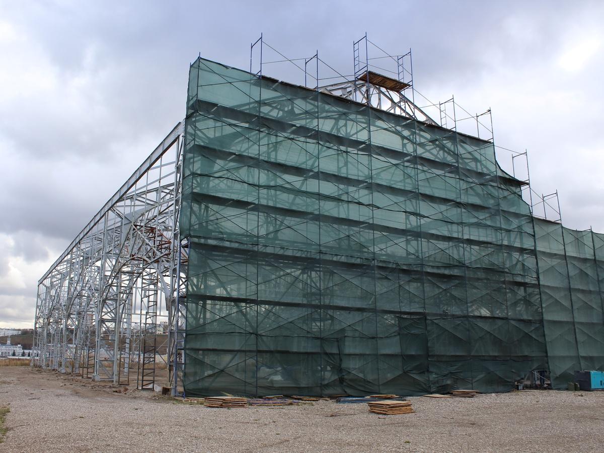 Противоаварийные работы на пакгаузах на Стрелке завершатся в декабре - фото 1