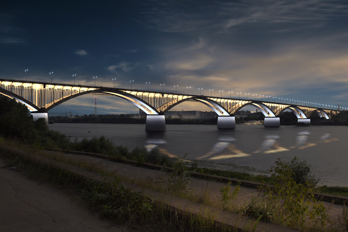 Разработана концепция наружного освещения Нижнего Новгорода к 800-летию - фото 1