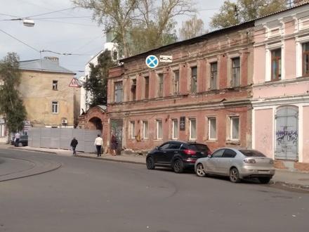 Историческую усадьбу разрушают в центре Нижнего Новгорода