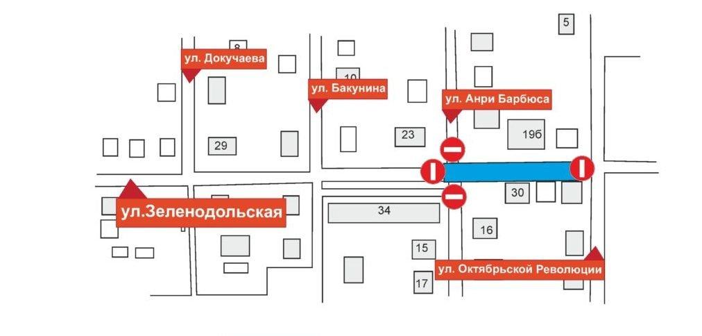 На улице Зеленодольской ограничат движение транспорта на время ремонта канализации - фото 2