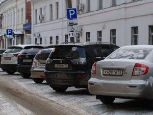 Запрет на ночную парковку будет введен около двух нижегородских торговых центров