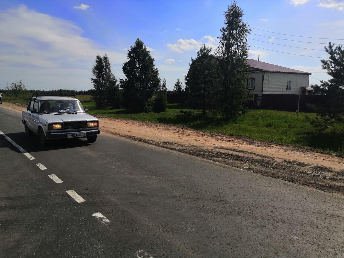 Завершен ремонт 5,3 км дороги Вознесенское-Куриха-Сарма - фото 1