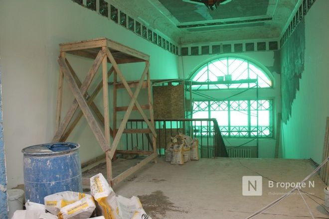 Реставрация Дворца творчества в Нижнем Новгороде выполнена на 10% - фото 10