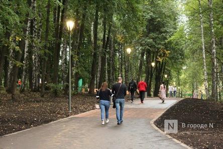 Нижегородцы пожаловались на темноту в парке «Швейцария»