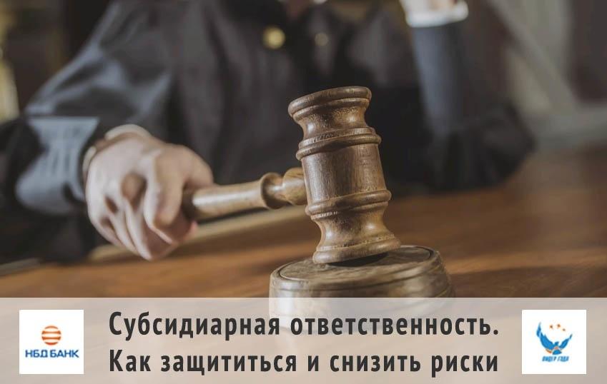 Нижегородским предпринимателям расскажут, как не рисковать личным имуществом при ведении бизнеса - фото 1