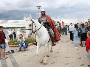 Интерактивная площадка к 800-летию Нижнего Новгорода открылась в День России