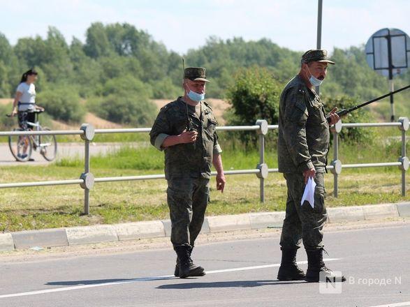 Танкисты в масках: первая репетиция парада Победы прошла в Нижнем Новгороде - фото 34