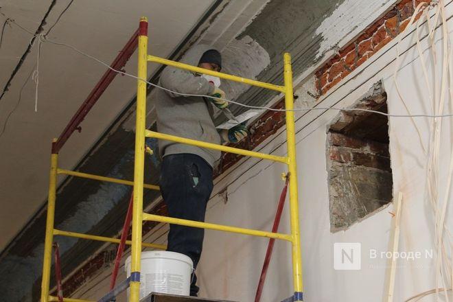 Реставрация Дворца творчества в Нижнем Новгороде выполнена на 10% - фото 14