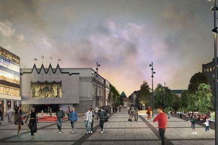 Установка батутов на Большой Покровской в Нижнем Новгороде задерживается
