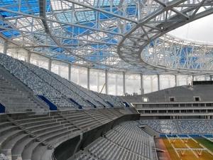 Стадион «Нижний Новгород» стал третьим среди лучших мировых арен