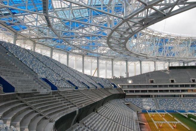 Стадион «Нижний Новгород» стал третьим среди лучших мировых арен - фото 1