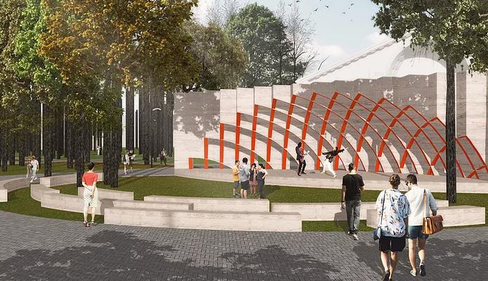 Нижегородские архитекторы стали призерами «Архновации» за проекты парка «Дубки» и сквера Григорьева - фото 1