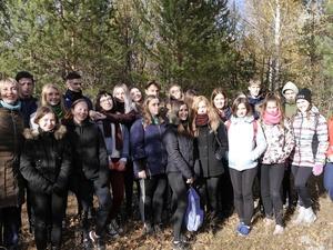 Студенты ННГАСУ и НГПУ имени Минина в  заповеднике «Керженский»