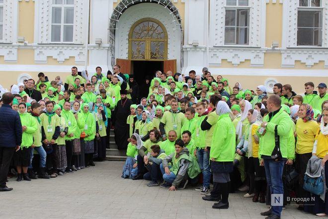 Патриарх Кирилл возглавил божественную литургию в Дивееве  - фото 28