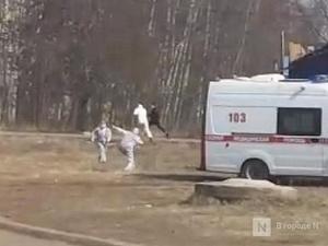 Погоня врачей «скорой» за мужчиной в Арзамасе попала на видео