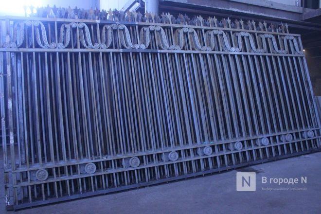 Как идет реставрация исторической ограды парка «Швейцария» - фото 56
