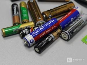 Неделя сбора батареек стартовала в Нижнем Новгороде