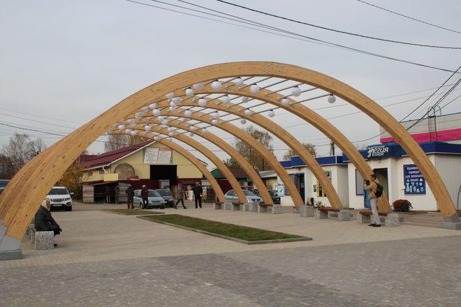 Площадь Свободы в Красных Баках благоустроили за 4,3 млн рублей - фото 3