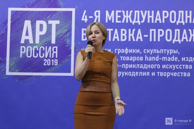 6000 квадратных метров искусства: выставка «АРТ Россия» открылась в Нижнем Новгороде - фото 22