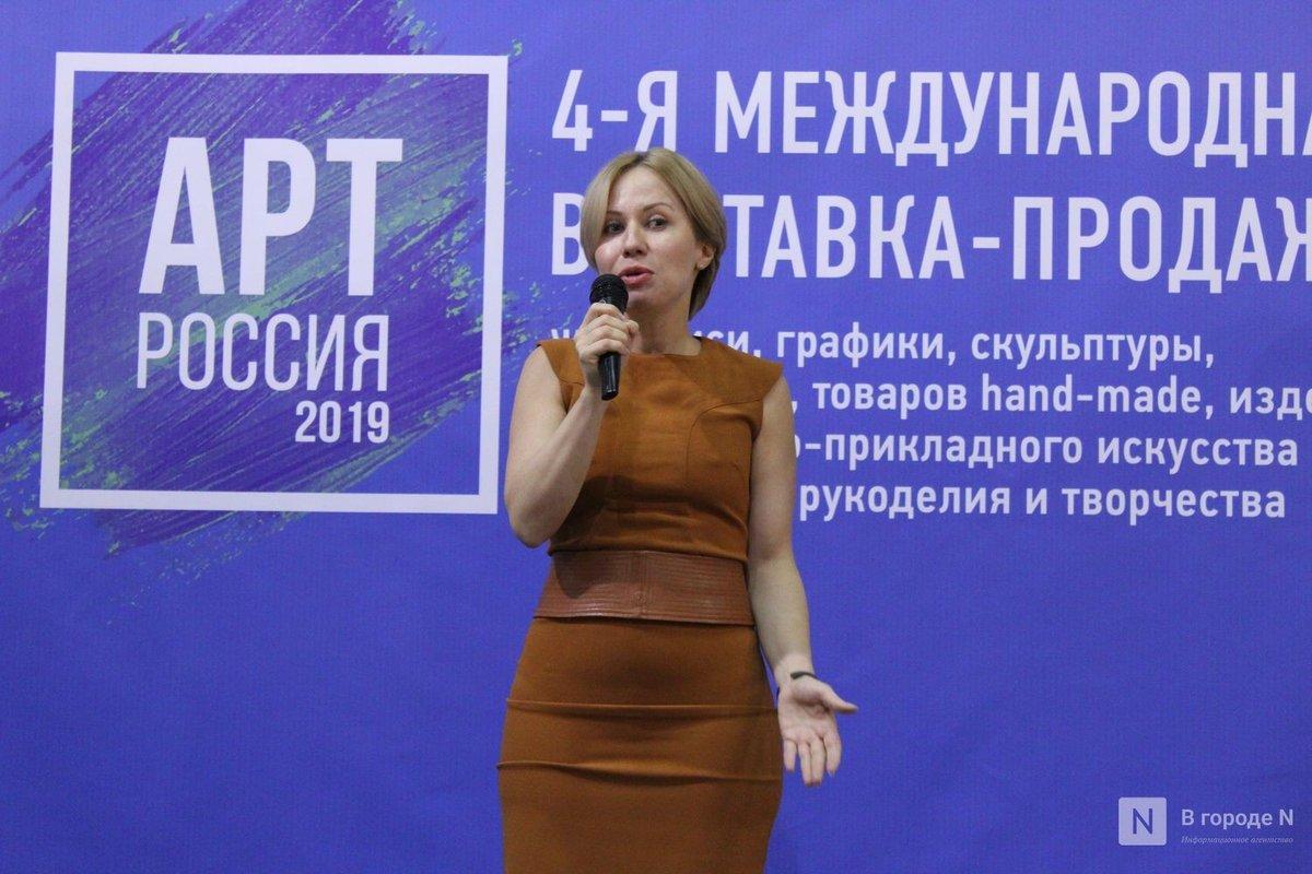 6000 квадратных метров искусства: выставка «АРТ Россия» открылась в Нижнем Новгороде - фото 3