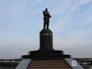 Памятник Чкалову отреставрировали в Нижнем Новгороде