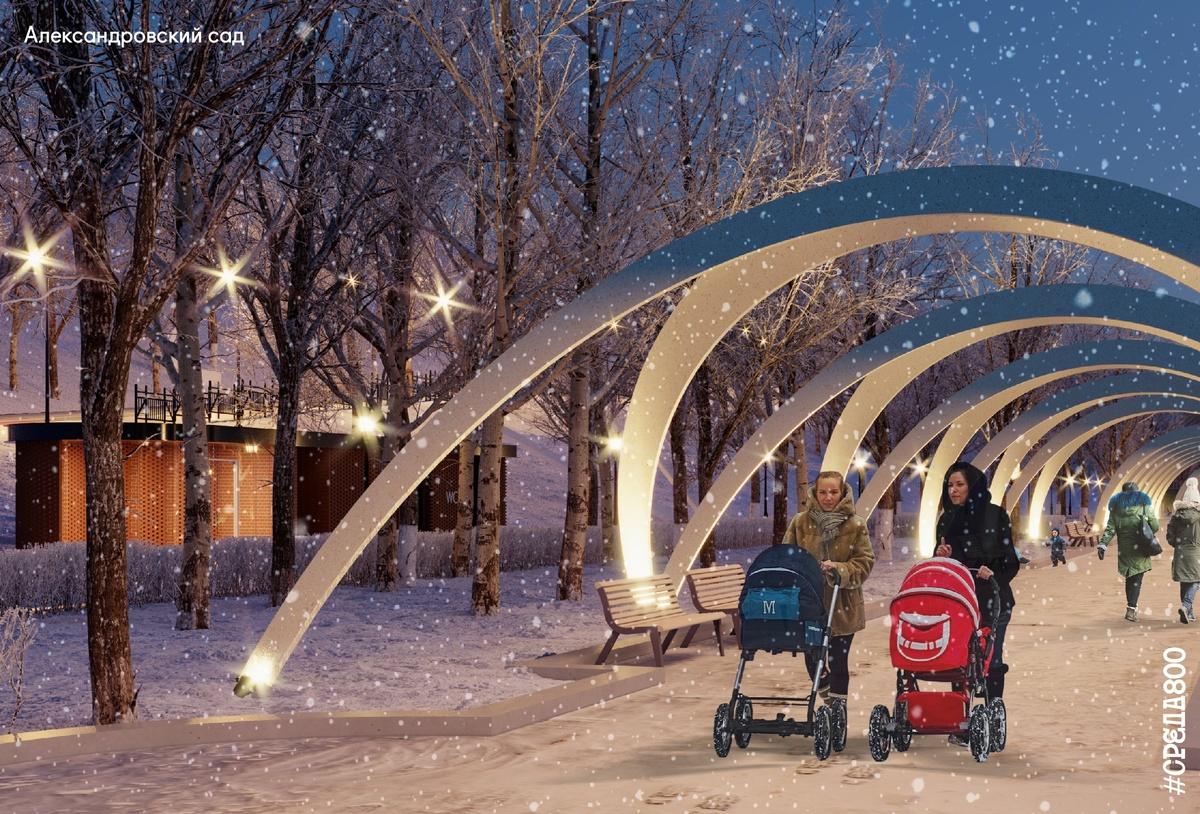 Возродить легендарную ракушку и задействовать подземелье планируется в Александровском саду - фото 5
