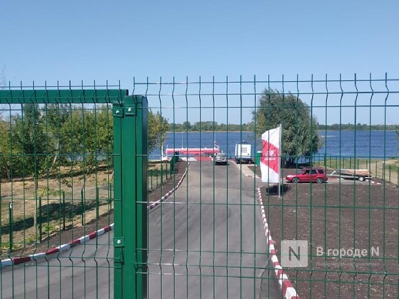 Пристань отмененного парома на Бор заняла база заправки судов топливом - фото 1
