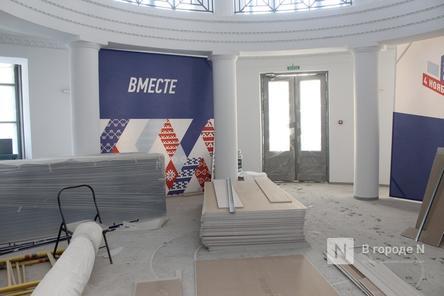 Реставрация нижегородского центра культуры «Рекорд» выполнена на 80%