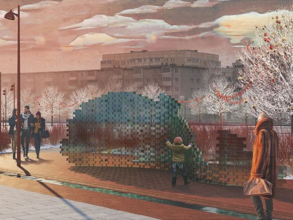 Скейт-парк и амфитеатр с фонтаном: как преобразится бульвар Заречный и площадь перед кинотеатром «Россия» - фото 10