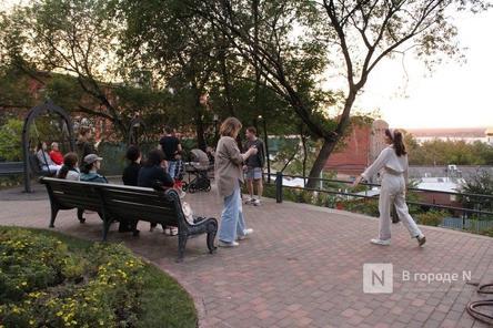 Благоустройство Почаинского бульвара завершается в Нижнем Новгороде