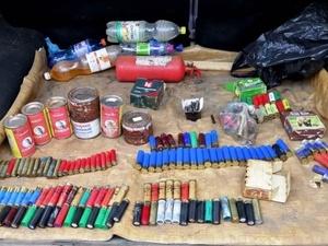 Свыше ста тридцати патронов и охотничье ружье сдала полицейским жительница Дивеева