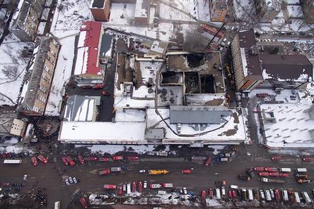 Тела всех погибших при пожаре обнаружены в ТЦ «Зимняя вишня»