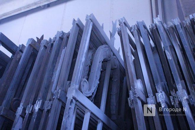 Как идет реставрация исторической ограды парка «Швейцария» - фото 29